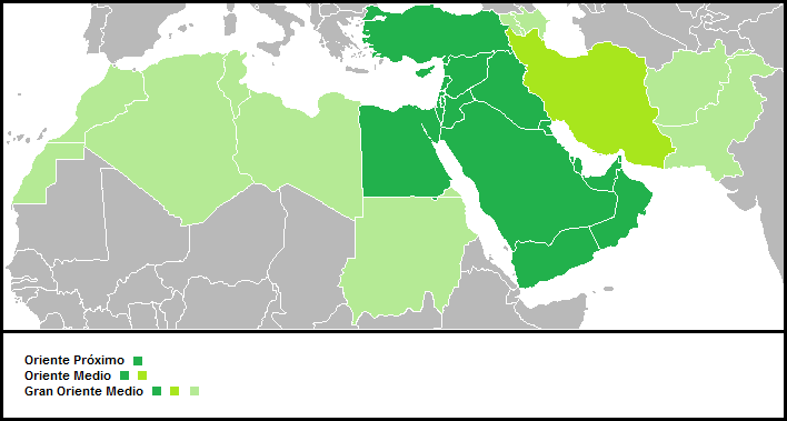 Oriente Próximo - Medio