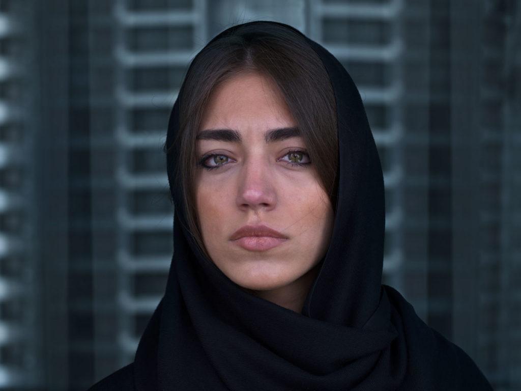 Foto: Newsha Tavakolian, de su serie 'Look'