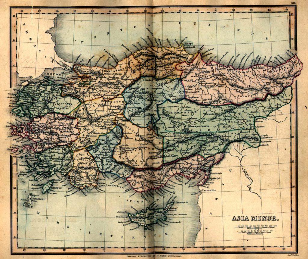 Asia Menor en la Antigüedad