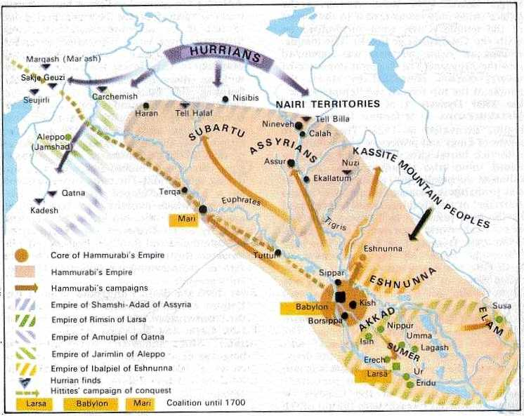 Babilonia - El imperio de Hammurabi