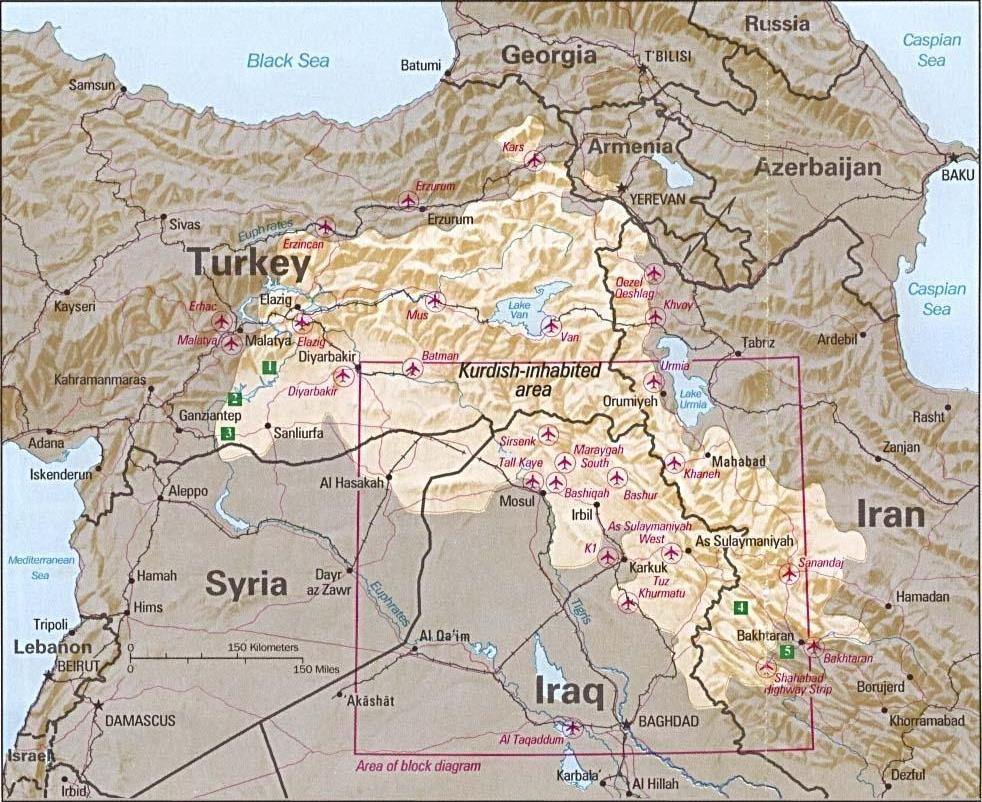 Área de población kurda