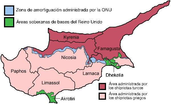 División de Chipre