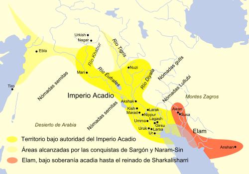 El Imperio Acadio (2334-2192 a.C.)