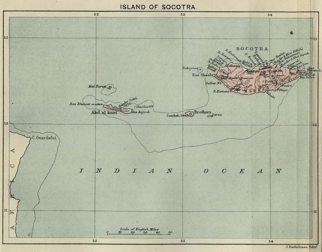Isla de Socotra, 1886