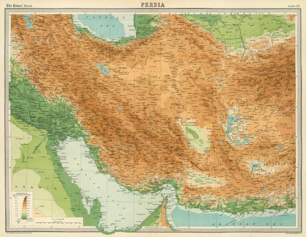 Persia, 1922