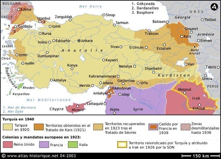 Turquía 1920-1940