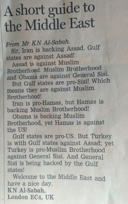 A short guide to the Middle East - FT