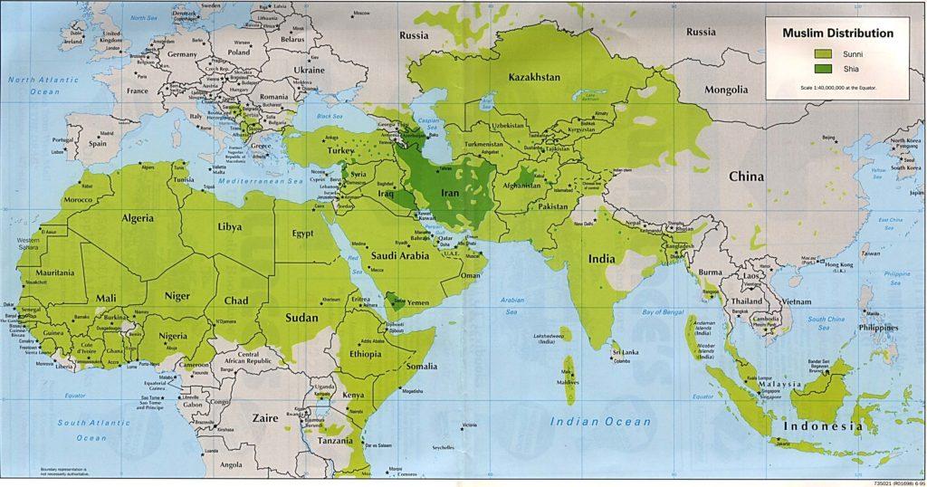 Sunníes y chiíes
