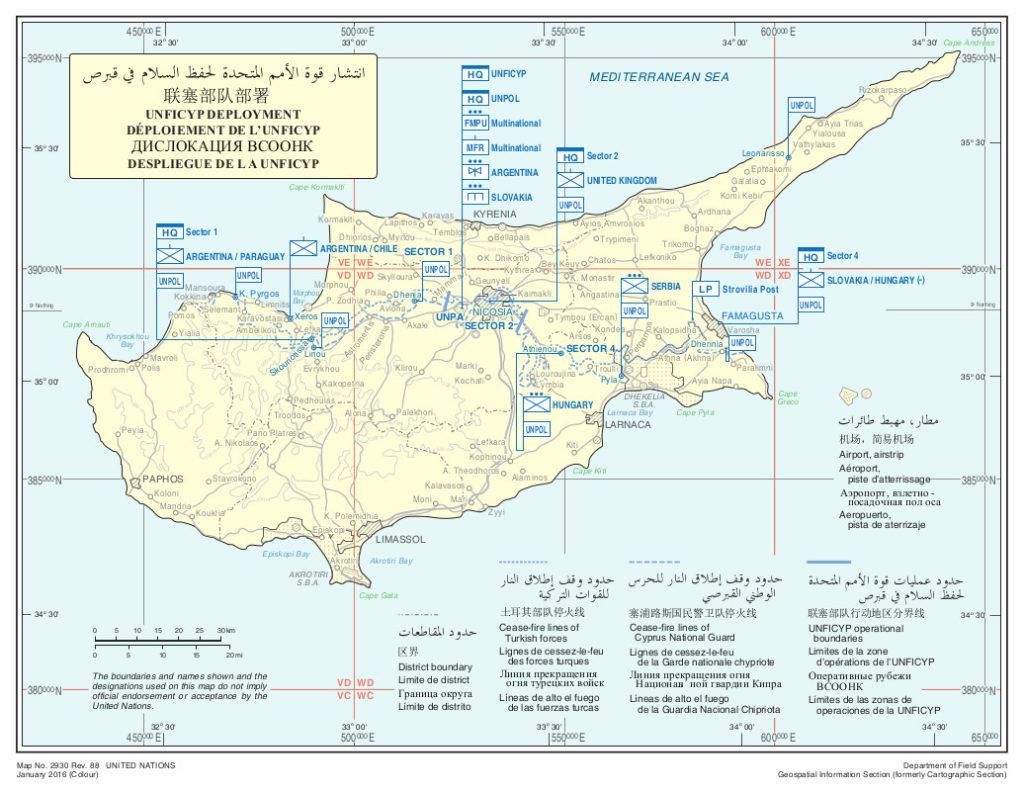Fuerzas de la ONU en Chipre